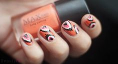 DIY Nail Art | Ikat ~ Beautyill | Beautyblog met nail art, nagellak, make-up reviews en meer!