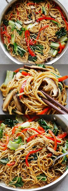 Vegetable Lo Mein -