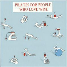Pilates for people who love wine . Im Fabulous, Wine Making, Just For Laughs, Make Me Smile, I Laughed, Compliments, Haha, Laughter, Hilarious