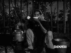 Pyar Hua Iakrar Hua Hai song from Bollywood classic Shree 420 starring Raj Kapoor and Nargis.