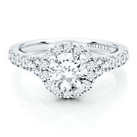 Artiste™ by Scott Kay 5/8 ct. tw. Diamond Semi-Mount Engagement Ring in 14K Gold