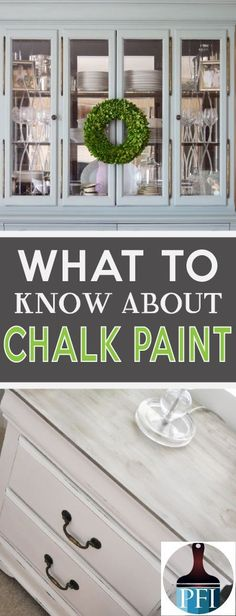 Chalk paint is all over the web. It i not only gorgeous but also very durable. Before you start your DIY paint project learn these great tips! Chalk Paint Projects, Chalk Paint Furniture, Furniture Projects, Home Furniture, Modern Furniture, Furniture Design, Bedroom Furniture, Country Furniture, Furniture Outlet