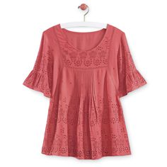 Embroidered Eyelet Blouse - Women's Clothing, Unique Boutique Styles & Classic Wardrobe Essentials
