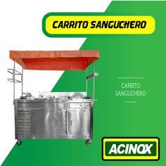 Carrito Sanguchero Modelo 1