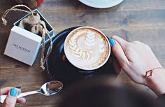 Coffee and jewels! Photo thanks to the amazing Carly Rowena.
