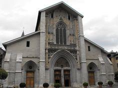 La cattedrale di Chambery dedicata a San Francesco di Sales