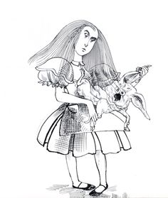 Ralph Seadman's Alice
