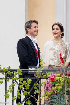 News Photo : Crown Prince Frederik and Crown Princess Mary of...