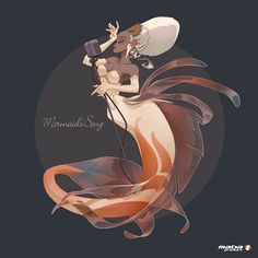 Mermaid's Song for the Character Design Challenge by Manuel Barbez aka Maba