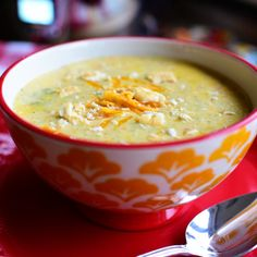 Broccoli-cheese soup is my life. There's something about it that triggers a happy, peaceful memory. I just don't know what the memory is. So I guess technically, it isn't really a…