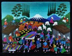 Tigua Art from Ecuador
