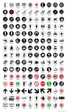National Park Service Pictographs Map symbols, Pictogram