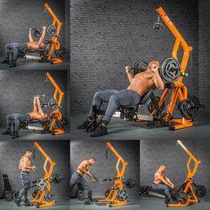 Workout Station TRIPLEX - MegaTec Serie in use - Part 1