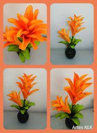 Resultado de imagen para flor bromelia em eva