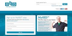 GED Test Sign Up
