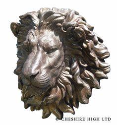 Large 3D Lion Head Wall Decoration   BKJ022