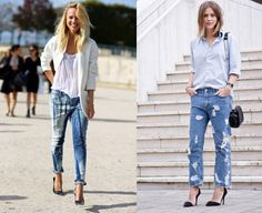 Boyfriend type - Style It Up Boyfriend Jeans, Mens Summer T Shirts, Look, Duster Coat, Polo Shirt, Jackets, Type, Clothes, Fashion