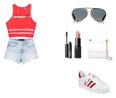 """""""Okay"""" by superflylala ❤ liked on Polyvore featuring T By Alexander Wang, adidas, Vans, Monki, Alexander Wang, Gucci, Chloé, NARS Cosmetics, Oliver Peoples and Givenchy"""