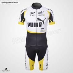2012 #Puma Vattenfall Sap #Fizik Pocus Bikos #Cycling Clothing Jersey And Bib Shorts
