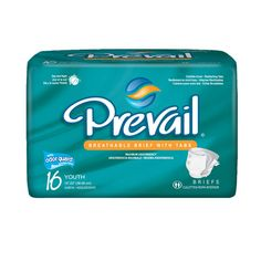 First Quality Prevail Youth Brief | The target acquisition and fecal containment zones reduce the potential for leakage and improves odor control. From TotalHomeCareSupplies.com