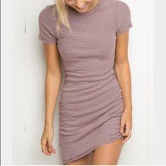 Brandy Melville Jenelle Dress Never worn, perfect condition dress from Brandy Melville. Brandy Melville Dresses Mini