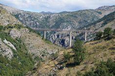 Belgrade to Bar Railway, Mala Rijeka Viaduct