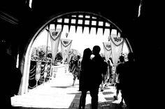 Disneyland engagement photo