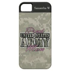 Proud US Army Mom iPhone 5 Cover