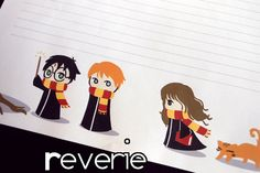 Harry Potter and the Chibi Scarves  Letterhead by intonations