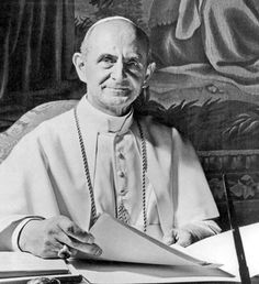 Giovanni Battista Enrico Antonio Maria Montini, Pope Paul VI Concesio (Kingdom of Italy) September 28 1897 Castel Gondolfo (Italy) August 6 1978 Pope from 21 June 1963 to his death in 1978, continued the Second Vatican Council which he closed in 1965, implementing its numerous reforms, and fostered improved ecumenical relations with Eastern Orthodox and Protestants, which resulted in many historic meetings and agreements.