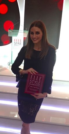 Here I am Snapped at the Elle Style Awards in Istanbul!
