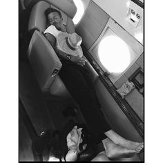 Now this is what you call beauty sleep. #DavidBeckham got in some much needed Zzzs during a recent plane ride, and his wife #VictoriaBeckham made sure to document his nap on #Instagram. | Ladies would agree -- One thing's for sure -- David Beckham looks as sexy asleep as he does awake! | @instylemag | Victoria Beckham Shares the Most Hilarious Photo of David Beckham Sleeping from #InStyle @asifahsankhan via http://instyle.com/
