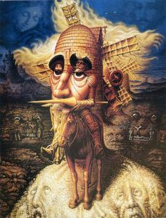 Check out the amazing artwork from Octavio Ocampo, who specializes in Metamorphosis Art, admires artists like Salvador Dali, and more. Optical Illusion Images, Optical Illusion Paintings, Optical Illusions Pictures, Illusion Kunst, Illusion Pictures, Art Optical, Illusion Art, Art Visionnaire, Dom Quixote
