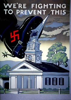 We're fighting to prevent this WW2 Poster