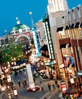 The Grove. Kids will enjoy the free trolley ride or watching the dancing fountain or even spot a celebrity!