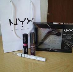 Comprinhas feitas pela blogger @heyannyoficial na NYX Caruaru