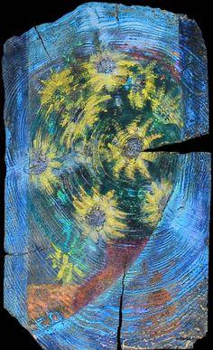 """""""Kwiatowe słoneczka III"""" / """"Flower sunshine"""" 20x33 cm"""