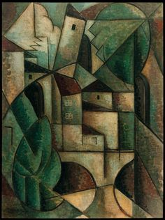 Cserba János: Köbgyök 100 – A kubizmus centenáriuma - artportal. Abstract Paintings, Abstract Art, Bright Colors Art, Futurism Art, Cubist Art, Georges Braque, Plastic Art, European Paintings, Paul Klee