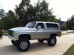 1990 Chevrolet k5 blazer lifted new paint $8,800 or best offer - 100535963 | Custom Lifted Truck Classifieds | Lifted Truck Sales