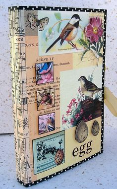 bird folder journal sr