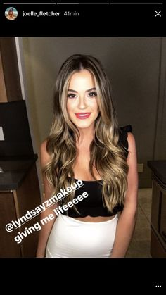 6 Things you need to know about Balayage Highlights – Stylish Hairstyles Jojo Fletcher, Joelle Fletcher, Bayalage Dark Hair, Balayage Hair, Stylish Hair, Brunette Hair, Great Hair, Hair Highlights, Hair Looks