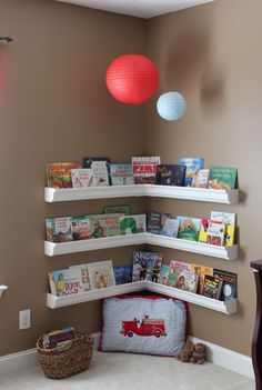 Great kid Play Space - read, reflect, do quiet time activities (puzzles, etc)
