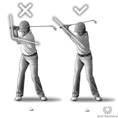 Keep your left arm stiff during your swing, including at the top of the backswing. This is in contrast to letting your left elbow bend, which some golfers tend to do as they proceed to the later stages of the backswing.