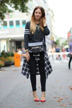 Tie a Shirt Around Your Waist! How to Rock the 90′s Trend! | frivolousfringe
