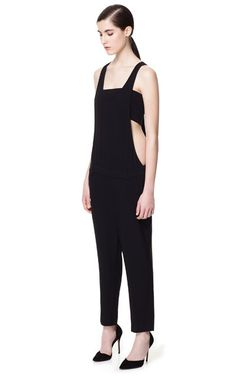 Image 1 of CUT-OUT JUMPSUIT WITH TROUSERS from Zara