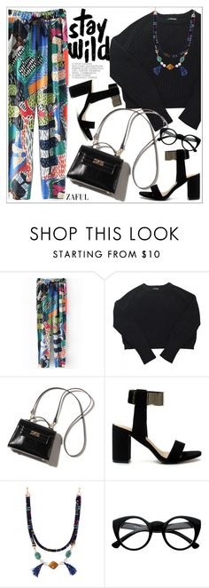 """""""Zaful"""" by teoecar ❤ liked on Polyvore featuring American Apparel, Retrò and zaful"""