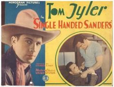 Single Handed Saunders lobby card