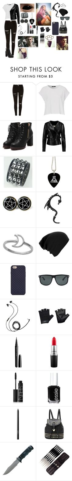 """""""Private supernatural roleplay"""" by gglloyd ❤ liked on Polyvore featuring Chloé, Tory Burch, Ray-Ban, Molami, Casall, Marc Jacobs, MAC Cosmetics, NARS Cosmetics and Essie"""