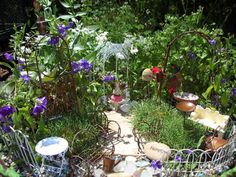 example of a fairy garden