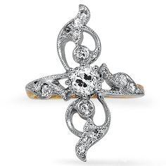 very unique ring